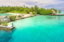 Free Aerial Photo Of Beach With Dock Royalty Free Stock Photos - 116232208