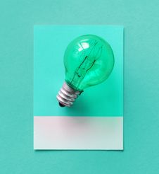 Free Bulb, Card, Colorful Royalty Free Stock Images - 116246169