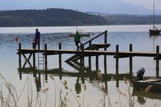 Free Water, Pier, Dock, Lake Royalty Free Stock Photo - 116268555