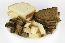 Free Slices Of Wheaten And Rye Bread Stock Photography - 11632962