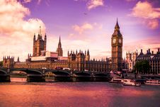 Free Westminster Palace Stock Photo - 116307890