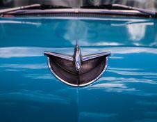 Free Chrome Chevrolet Bel Air Emblem Royalty Free Stock Image - 116371126