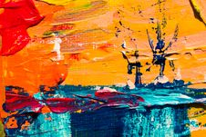 Free Multicolored Abstract Painting Stock Photo - 116371310