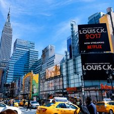 Free Landscape Photography Of Time Square, New York City Royalty Free Stock Photography - 116371497