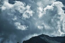 Free Photo Of Cloudy Sky Under Mountain Royalty Free Stock Image - 116371536