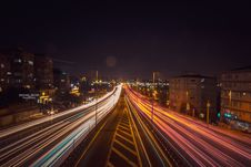 Free Time Lapse Photography Of Road Beside Buildings Stock Photo - 116371590