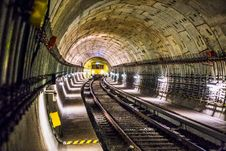 Free Photo Of Train Track Subway Stock Photography - 116371592