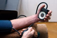 Free Blood Pressure Royalty Free Stock Photography - 11649517