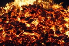 Free Fire, Flame, Geological Phenomenon, Bonfire Stock Photography - 116412582