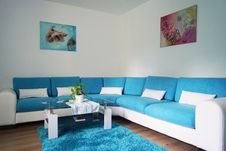 Free Blue, Living Room, Room, Property Royalty Free Stock Images - 116412689