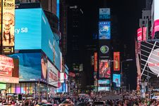 Free Times Square, New York Royalty Free Stock Image - 116433916