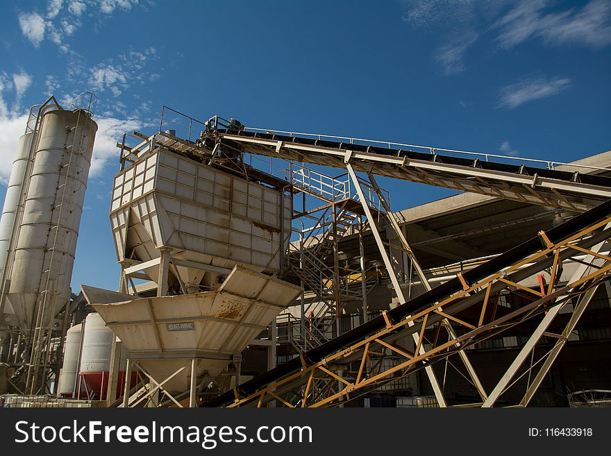 White Metal Cement Factory