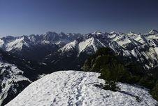 Free Snow Capped Mountain Ranges Stock Photos - 116504673