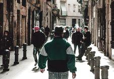 Free Man Wearing Green Jacket Stock Photography - 116504692
