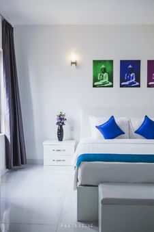 Free Bedroom, Decoration, Hotels Royalty Free Stock Photos - 116504808