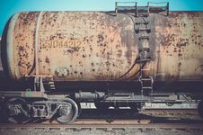 Free Railroad Car, Rolling Stock, Track, Train Royalty Free Stock Photography - 116611737