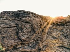 Free Large Brown Rock Formation Stock Photography - 116695472