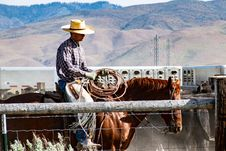 Free Photography Of A Man Riding Horse Stock Image - 116695611