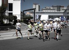 Free People Having A Marathon Stock Photos - 116695913
