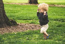Free Photo Of Toddler Running Stock Photos - 116695973