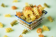 Free Spiral Pasta Royalty Free Stock Photos - 116696128