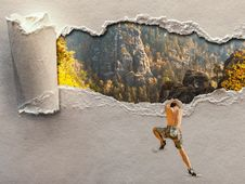 Free Wall, Art, Painting Stock Image - 116733201