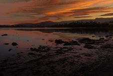 Free Loch, Reflection, Sky, Sunset Royalty Free Stock Photography - 116733457