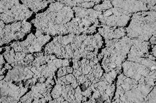 Free Black And White, Soil, Monochrome Photography, Drought Stock Image - 116733571