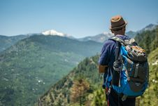 Free Selective Focus Photography Of Man Carrying Hiking Pack Royalty Free Stock Photography - 116776187