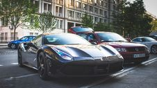 Free Photography Of Parked Ferarri Royalty Free Stock Photos - 116776478