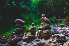 Free Rock Stacking Royalty Free Stock Photo - 116776595