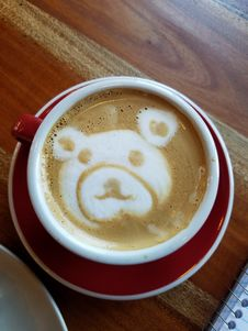 Free Latte, Cappuccino, Coffee, Caffè Macchiato Stock Photography - 116789482