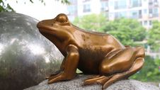 Free Sculpture, Fauna, Statue, Amphibian Stock Images - 116789754