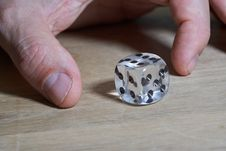 Free Dice Game, Dice, Finger, Nail Stock Photos - 116789843