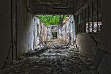 Free Urban Area, Ruins, Alley, Darkness Royalty Free Stock Photography - 116789907