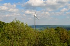 Free Windmill, Wind Farm, Wind Turbine, Sky Stock Image - 116790231