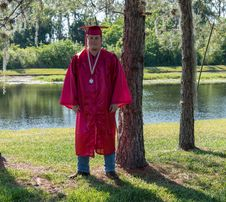 Free Academic Dress, Outerwear, Tree, Graduation Stock Images - 116790254