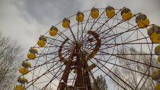 Free Ferris Wheel, Tourist Attraction, Yellow, Amusement Park Stock Photos - 116790303