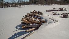 Free Snow, Winter, Geological Phenomenon, Wood Stock Image - 116790771