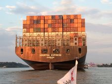 Free Container Ship, Water Transportation, Ship, Watercraft Royalty Free Stock Images - 116790839