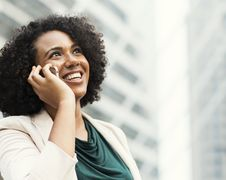 Free Woman Taking Phone Call Royalty Free Stock Photo - 116853935