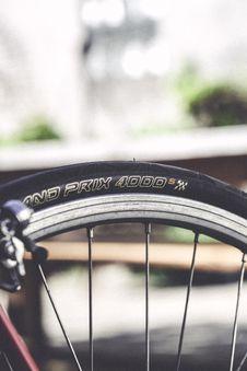 Free Close-up Photo Of Black Bike Wheel Stock Image - 116853961