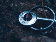 Free Skeleton Key On Ground Royalty Free Stock Photos - 116854228