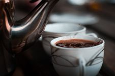Free Selective Focus Photography Of Teacup With Coffee Royalty Free Stock Photos - 116854348