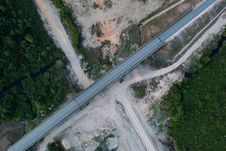 Free Top View Of Asphalt Road Royalty Free Stock Photo - 116854375