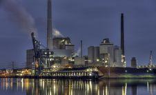 Free Industry, Reflection, Water, Sky Stock Image - 116884931