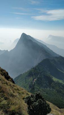 Free Mountainous Landforms, Sky, Mountain, Ridge Royalty Free Stock Photo - 116885005