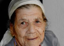 Free Face, Senior Citizen, Skin, Chin Stock Image - 116885141