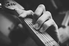 Free F Guitar Chord Royalty Free Stock Photography - 116927727