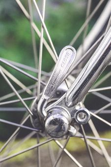 Free Close-Up Photography Of Wheel Spokes Stock Photography - 116984412